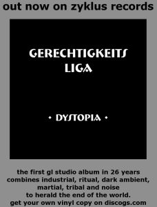 Gerechtigkeits Liga album Dystopia - Zyklus ZRMM01