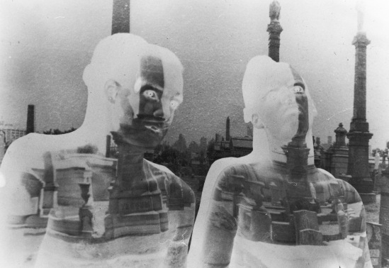 G.L. body projection, 1984, Bremen - West Germany